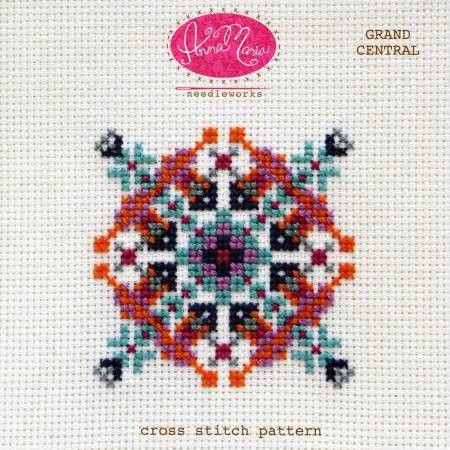 Anna Marie cross stitch pattern at Bloomerie Fabrics