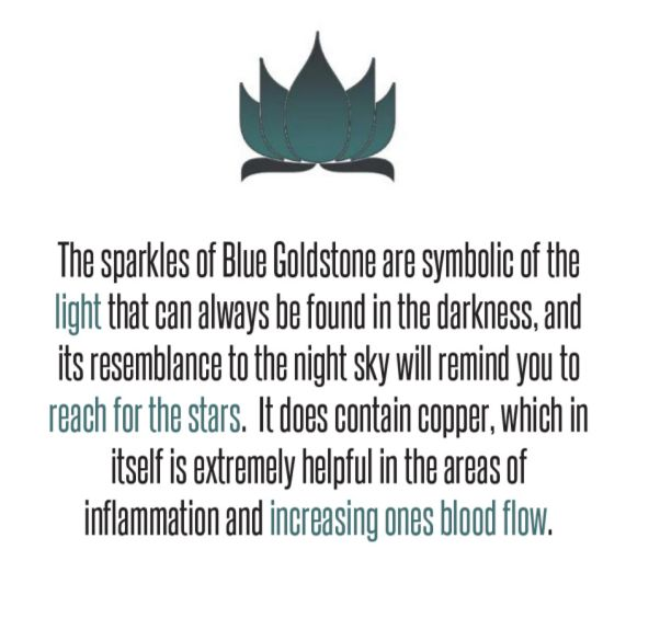 Blue Goldstone.