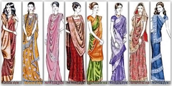 Numerous Sari styles compiled together for you in #TheWhole9Yards book by #KalpanaShah :) Click here and share with all your friends: http://amzn.to/1wUSNo7 #SariDrape #Sari #Style #IndianWear #DesignerWear