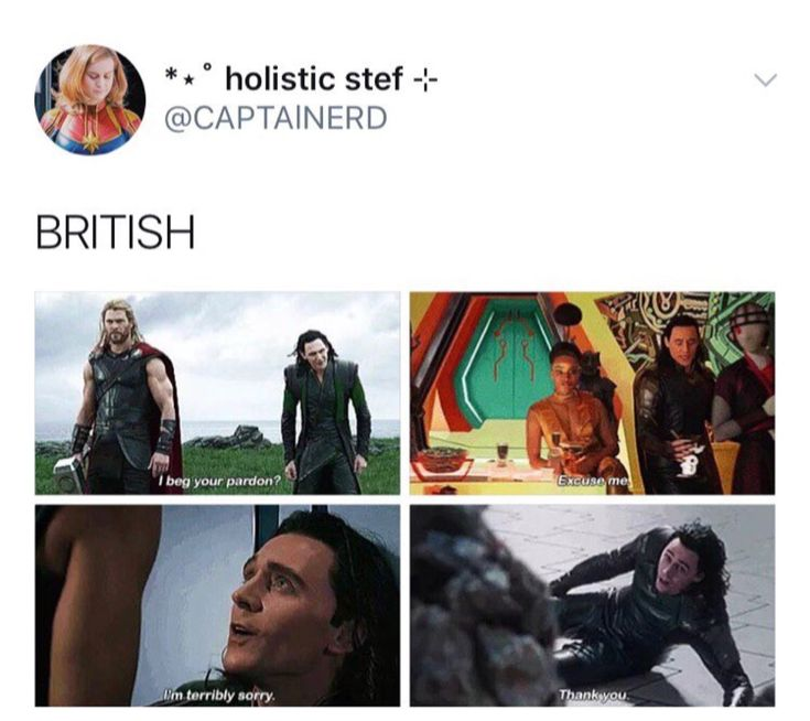 British Loki, your Hiddles is showing