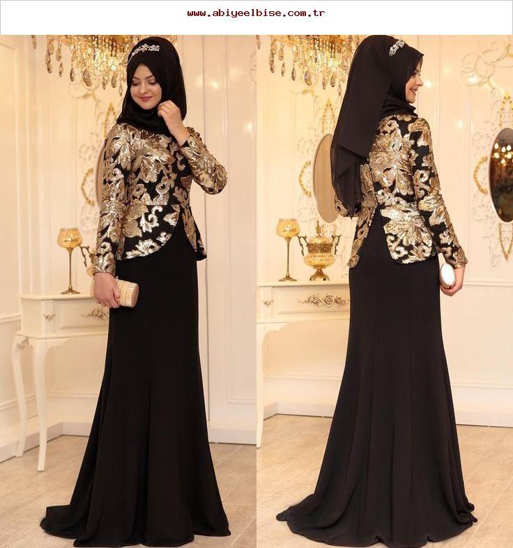 2018 Tesettur Sunnet Annesi Abiye Elbise Modelleri 1 Abiye Annesi Elbise Modelleri Sunnet Tesettur Evening Dresses Hijab Evening Dress Soiree Dress