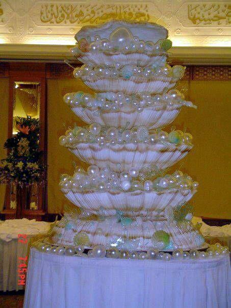 tortas espectaculares para bodas: Sea Shells, Amazing Cakes, Royal Wedding Cakes, Cakes Decor, Royal Weddings, Eating Cakes, Royals Wedding Cakes, Seashells, Beautiful Cakes