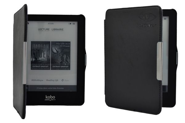 SlimFit Cover Protective Case for Kobo Glo - Black