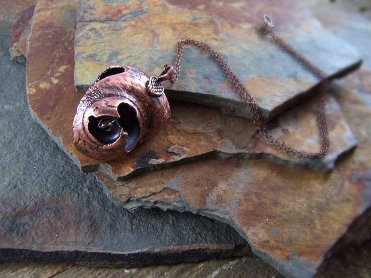 Shell - Antique Copper - Cat No 16