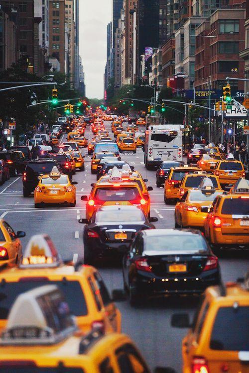 #cars #taxi #lights #jam #buildings #city