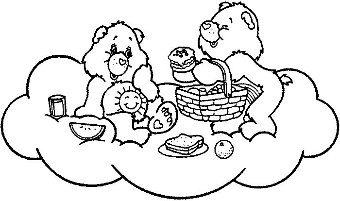 funshine cear coloring pages - photo#16
