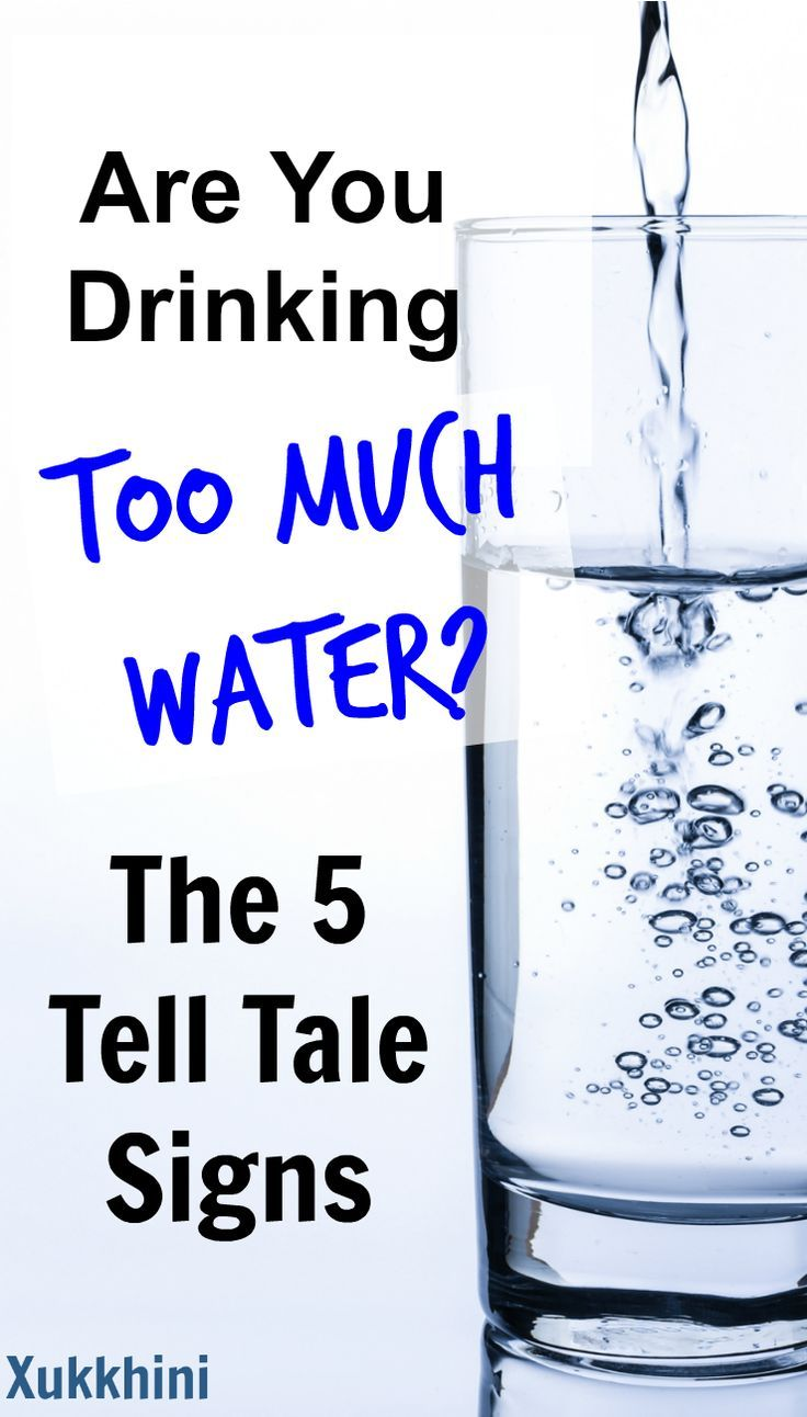 Are You Drinking Too Much Water: The 5 Tell Tale Signs.