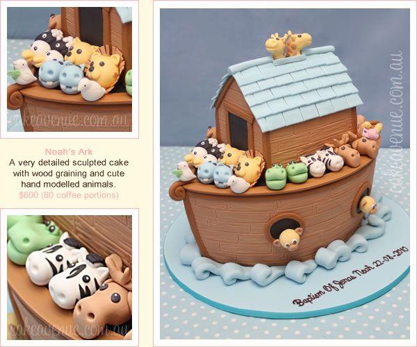 Noah's Ark cake by Cake Avenue
