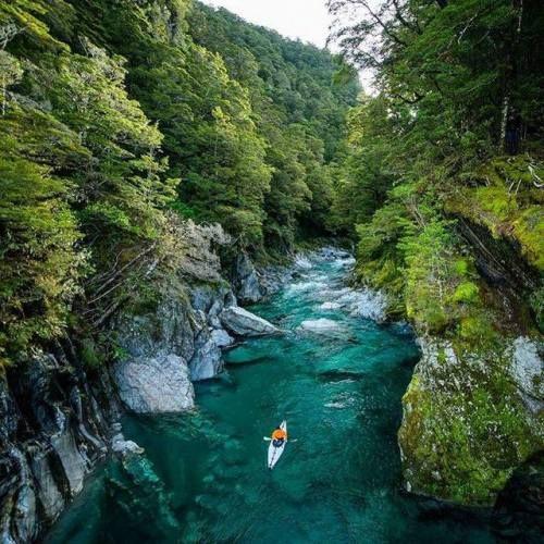 Blue Pools New Zealand   Chris Burkard Photography   #adventure #travel #wanderlust #nature #photography