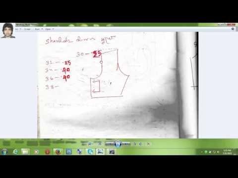Secret Blouse Measurement Part 3