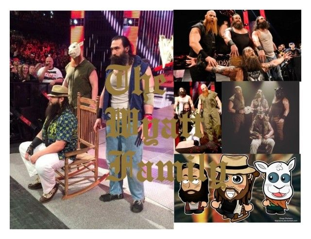 """""""The Wyatt Family"""" by royal-bliss ❤ liked on Polyvore featuring WWE"""