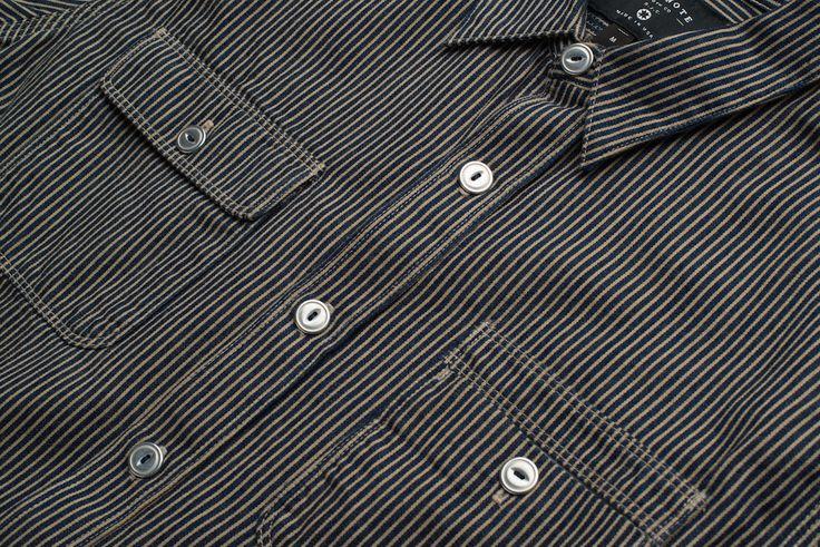 Freenote Cloth   Lambert - Navy     $220