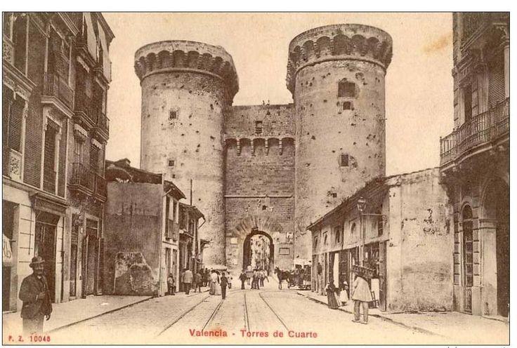 Academia de nocturnos - La Valencia antigua - L'Acadèmia / torres de Quart