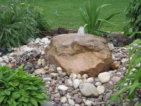 Bubbling Rock, South Eastern Wisconsin including Madison and Milwaukee area- Landscape Contractor, Outdoor design, Patios, Retaining Walls, Outdoor Entertainment, Landscape Designer, Custom Water Features