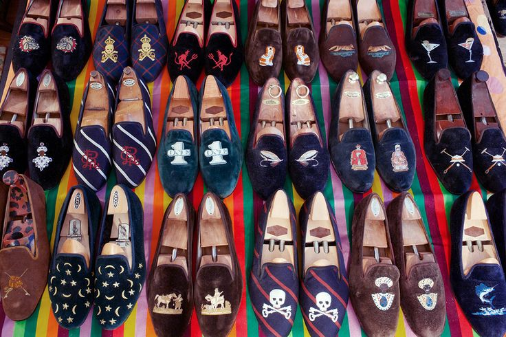 Belgian Dandy: How to Wear Velvet Slippers: Casual, with or without Socks