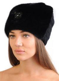 зимние шапки современная мода 20171