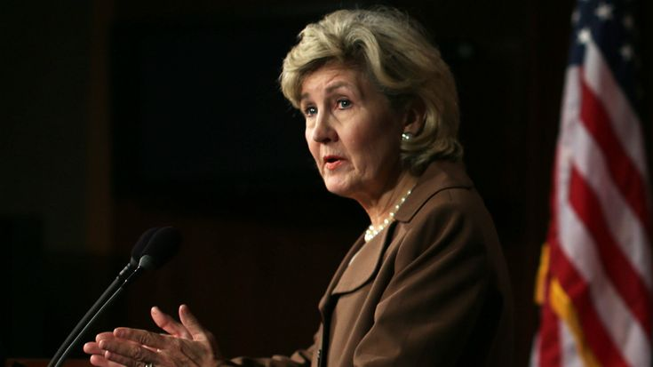 Former Sen. Kay Bailey Hutchison (R-Texas) is reportedly expected to fill the role ahead of NATO meetings this month.