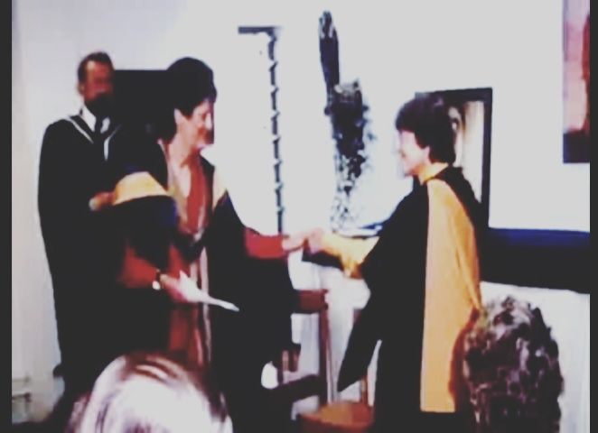 Myra Hindley went she recived her diploma in Humanities