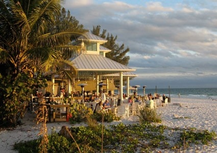 Sandbar Restaurant, Anna Maria Island, FL. Watched many a sunset from here.