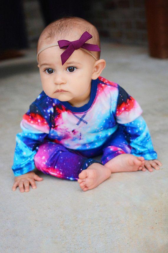 Nylon headband Baby and toddler hand tied bow