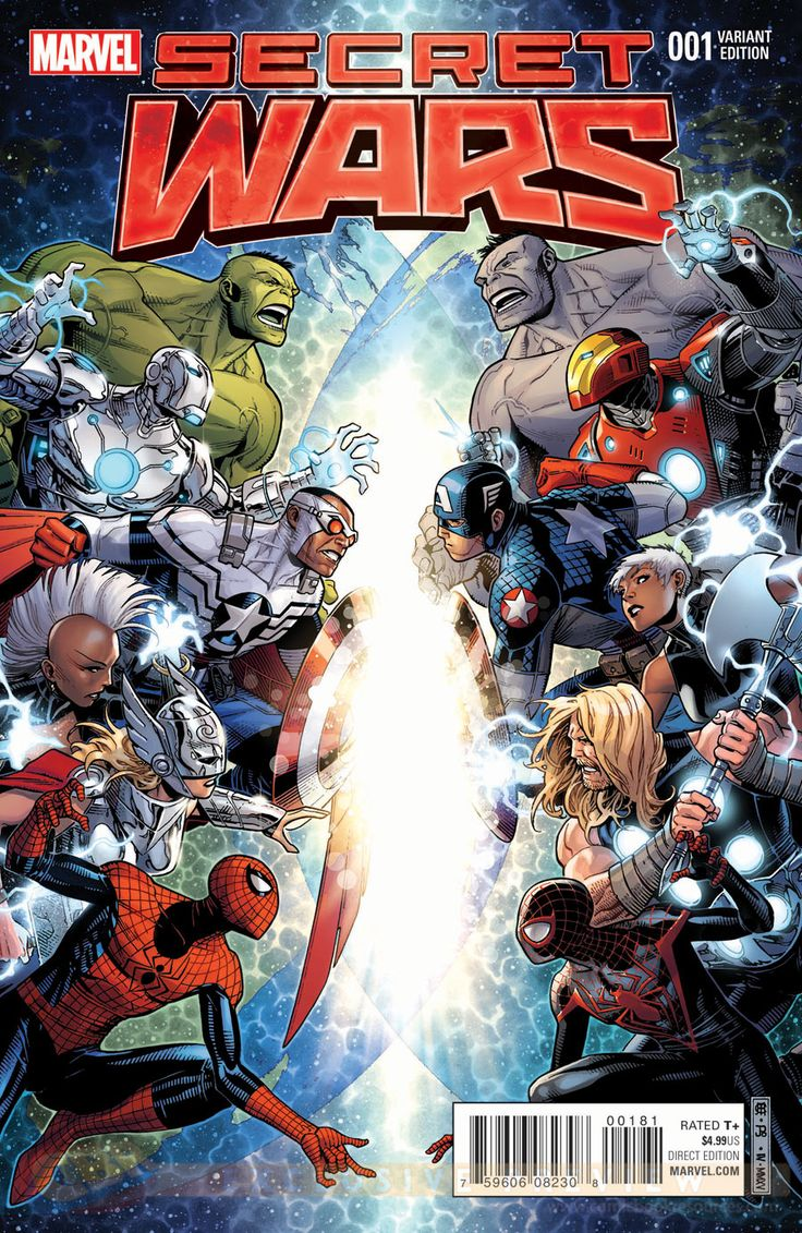 COMICS: SECRET WARS Variant Covers Tease An Epic Clash Of Heroes