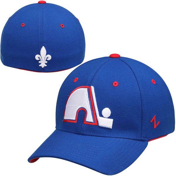Quebec Nordiques Zephyr Breakaway Flex Hat – Navy Blue - $18.99