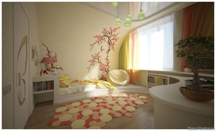 Теплая спальня | Дизайн интерьера спальни | Фотогалерея ремонта и дизайна | Школа ремонта. Ремонт своими руками
