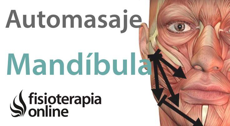 Se muestra un auto-masaje para la mandibula muy indicado tanto en los problemas de bruxismo o tension en la mandibula como en los dolores y bloqueos de la ar...