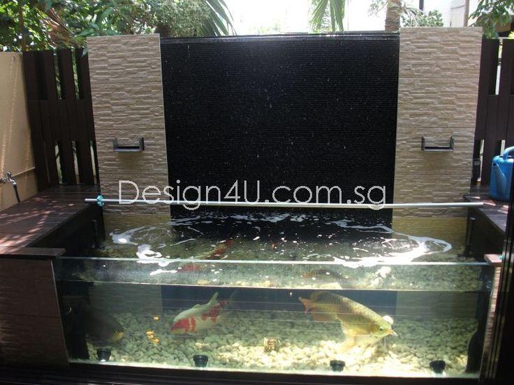 Singapore Koi Pond, Water Feature, Fiberglass & Swimming Pool, Landscape, Home Renovation – Design4U