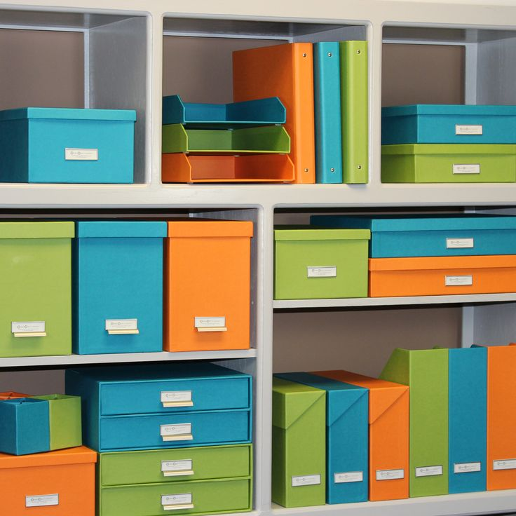 So Box Office Decor And Organization Add Pops Of Color To Your With Orange