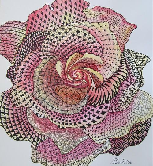 zentangle | Tumblr | repinned by www.CamerinRoss.com