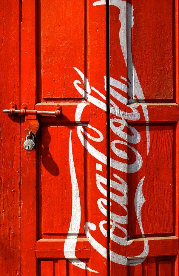 Coke Door by Vegas