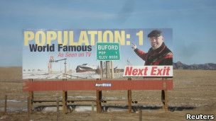Dilelang: Kota berpopulasi 1 jiwa di AS