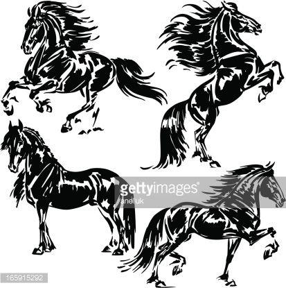 Oltre 25 fantastiche idee su tatuaggi di cavalli su for Immagini cavalli stilizzati