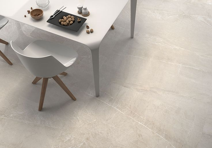 Piceno by Geotiles is a glazed porcelain stoneware collection available in three colors and inspired by natural stone. These tiles with neutral tones and elegant sobriety allow for timeless decors. #tiles #flooring