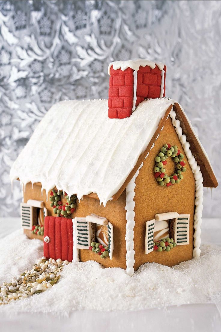 1000 ideas about gingerbread houses on pinterest for Cool designs for gingerbread houses