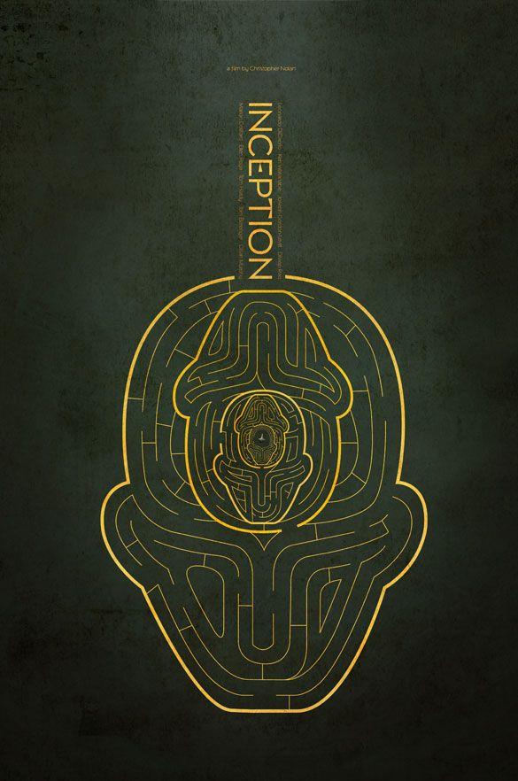 Minimalistic Movie Posters - Inception