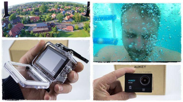 AUKEY Action Kamera im Test - Susi und Kay Projekte Unser #Testbericht über die #Aukey #Actioncam ist Online. Ich habe für euch ein #Video gedreht indem ich euch die Action-Cam kurz vorstelle. Im hinteren Teil könnt ihr euch von den super #Videoaufnahmen überzeugen, Die #Luftaufnahmen sowie auch die Aufnahmen #Unterwasser mit uns im #Pool sind klasse geworden.