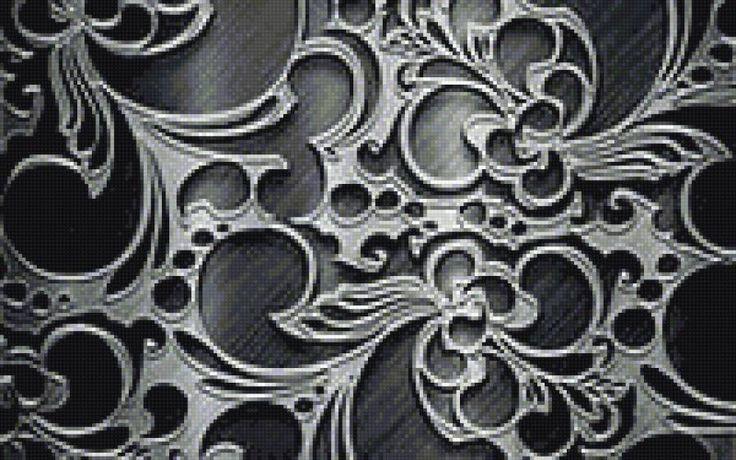 металлическое кружево - Схемы вышивки - ALebidkina - Авторы - Портал «Вышивка крестом»