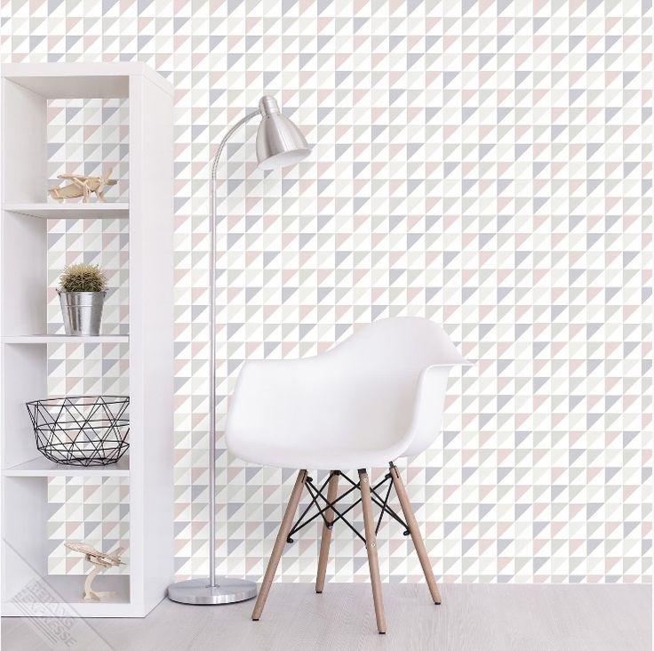 Behang expresse platinum behang pl 2022 driehoekjes