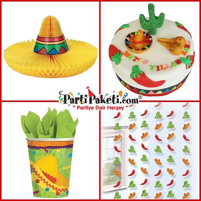 Viva La FİESTA… Yaşasın Rahatlık… İspanyolların hayat felsefesinin kaynağı Fiesta parti temalı tüm ürünler parti paketi mağazalarında.