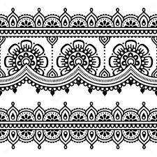 Resultado de imagem para mehndi ilustração
