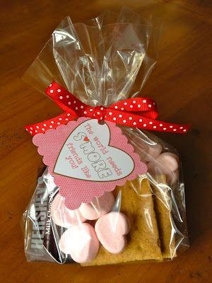 Smore Valentine Idea