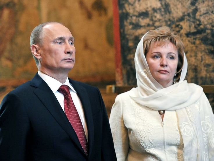 vladimir putin wife | PHOTO: Russian President Vladimir Putin and Lyudmila Putina attend a ...
