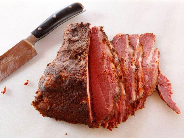 Shaved beef jewish