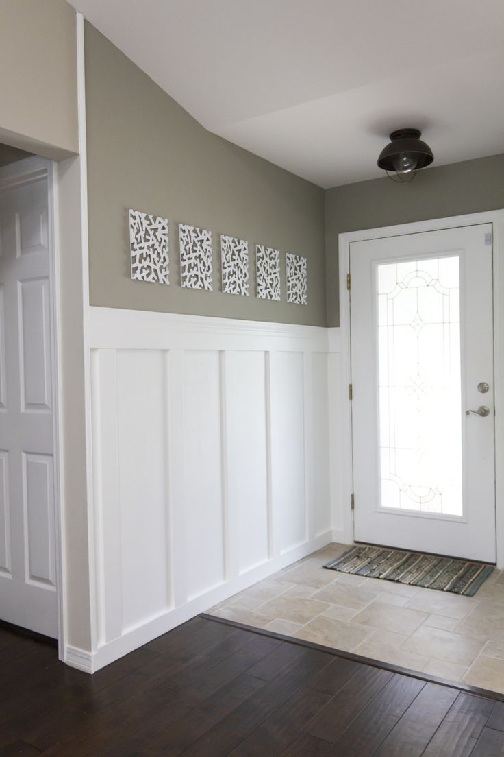 12 Best Faux Wainscoting Diy Images On Pinterest Home