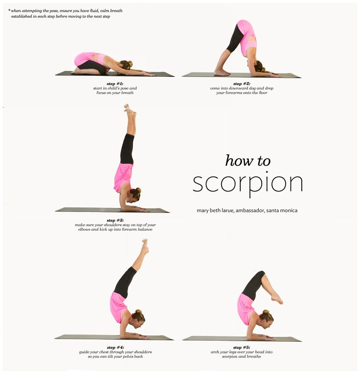 How to do Scorpion pose