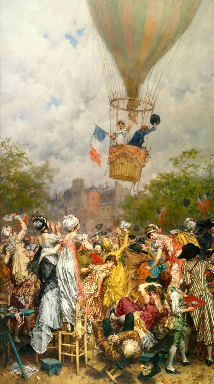 Une ascension en l an viii frederick hendrik kaemmerer 19th century