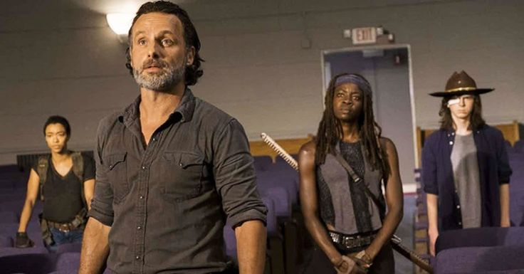 Two New Characters Join Forces With Rick In The Walking Dead Season 8
