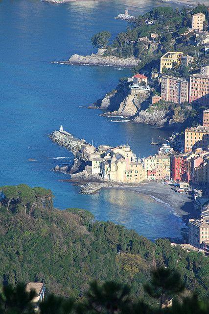 Camogli, Cinque Terre, Italy, province of La Spezia , Liguria